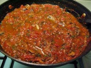 Mmm...homemade pasta sauce!